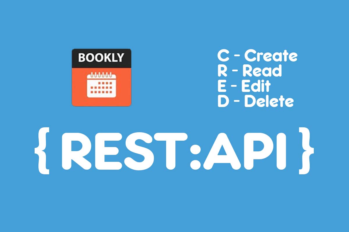 Bookly Rest API CRED Operations